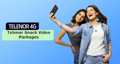 Telenor Snack Video Packages Daily Weekly & Monthly bases