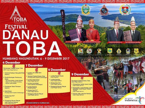 Festival Danau Toba 2017 Resmi Dibuka
