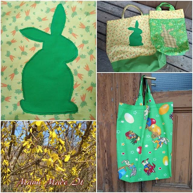 Ostergeschenktaschen nähen - Sewing Easter Giftbags