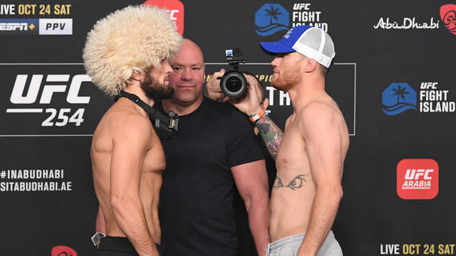 مشاهدة نزال حبيب نورمحمدوف ضد جاستن غايتجي بث مباشر اليوم 254 UFC
