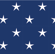 blue white star paper