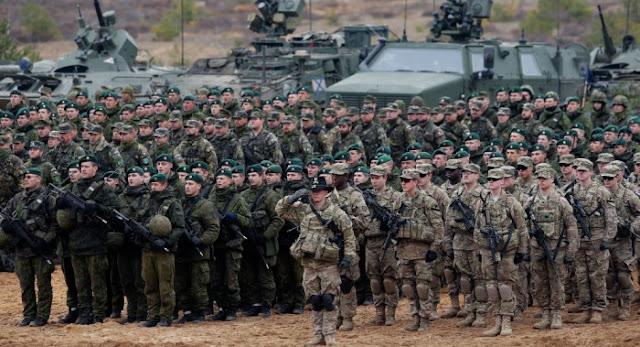NATO Siapkan 300 Ribu Tentara di Wilayah Perbatasan dengan Rusia