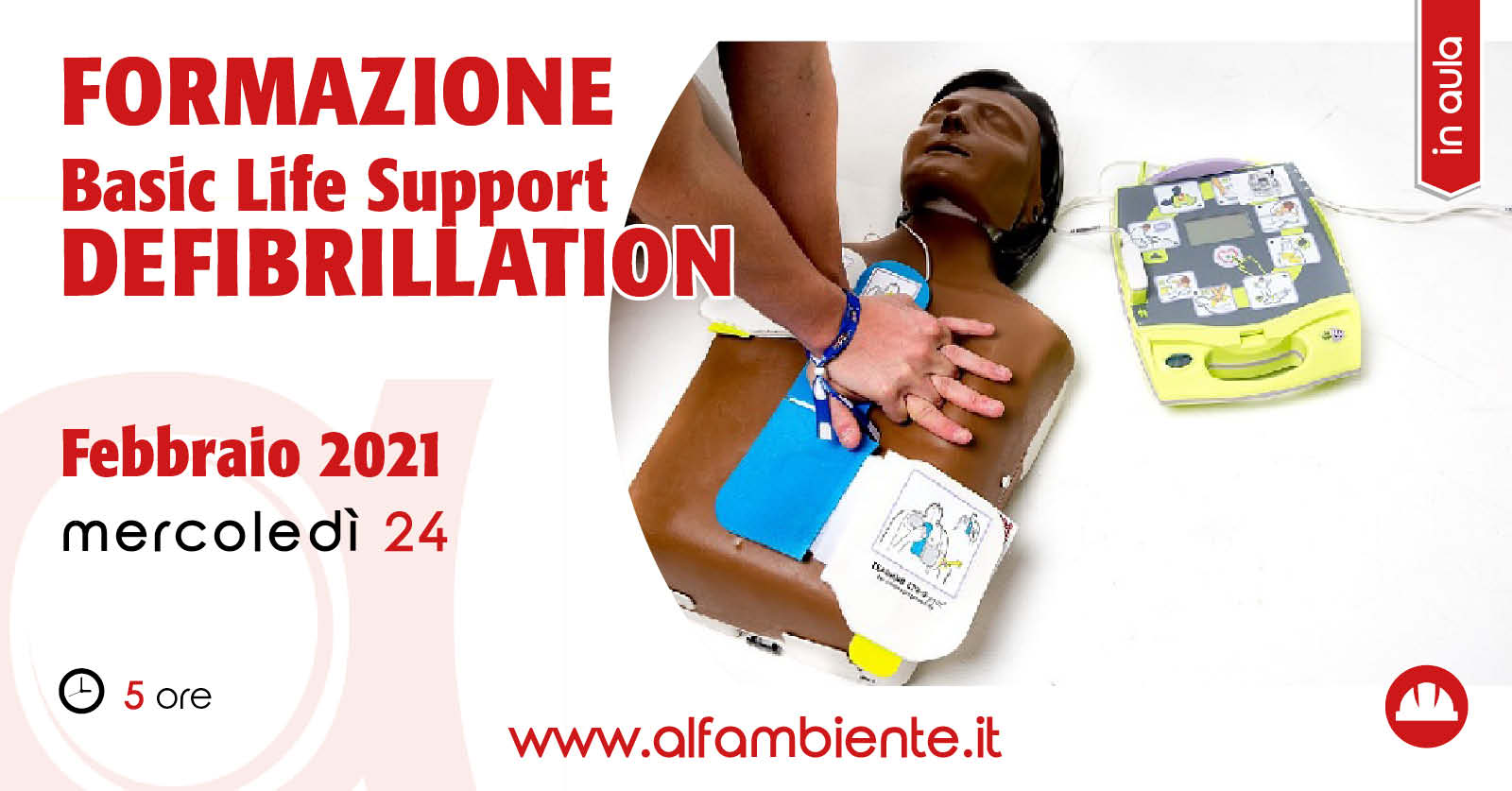 Formazione BLSD (Basic Life Support - Defibrillation)