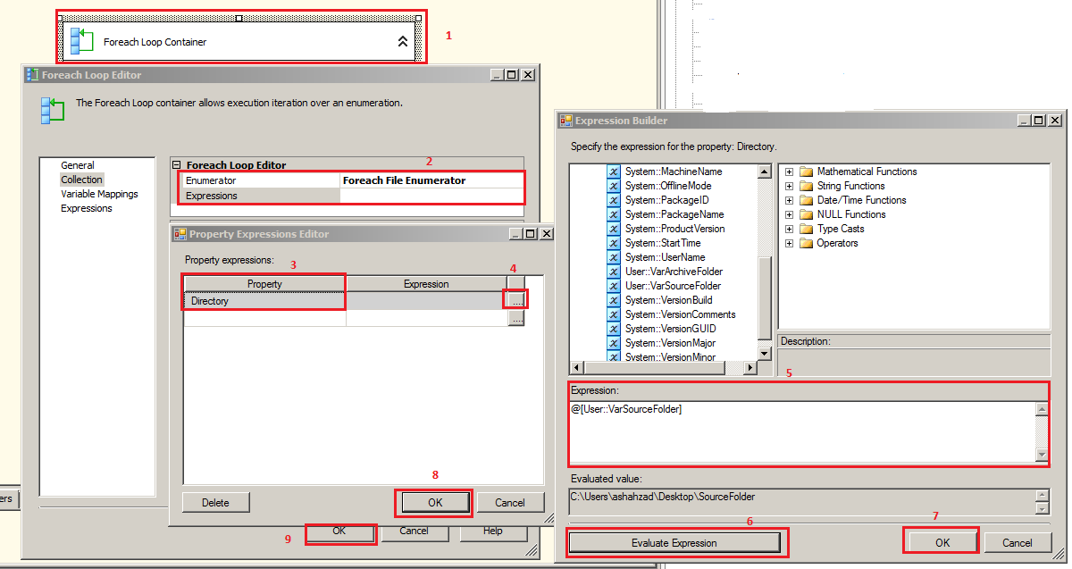 Welcome To TechBrothersIT: SSIS - Archive Files And Add