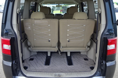 Interior Bagasi Mitsubishi Delica