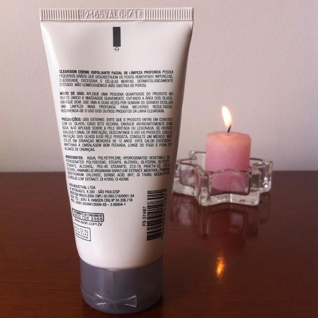 Clearskin Creme Esfoliante Facial de Limpeza Profunda – Avon