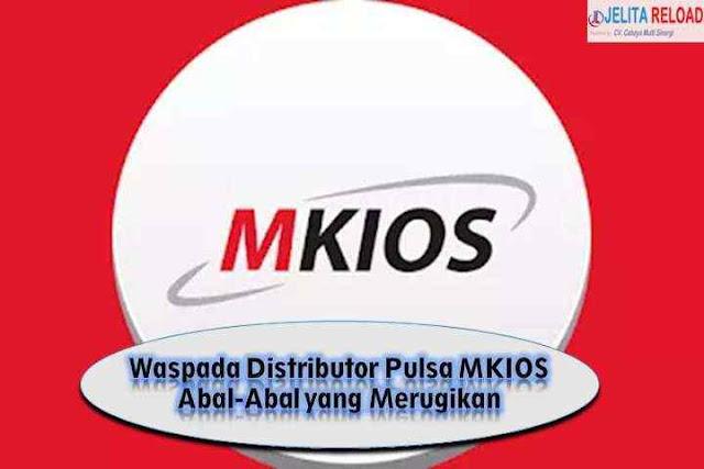 Waspada Distributor Pulsa MKIOS Abal-Abal yang Merugikan