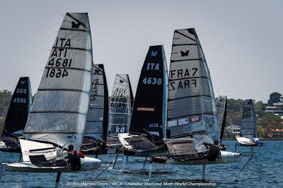 Benoit Marie 17e des Championnats du Monde de Moth