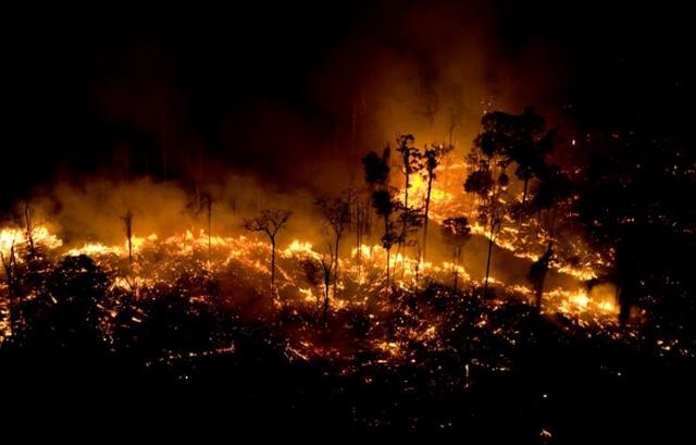 A agência espacial americana (Nasa) disse que 2019 é o pior ano de queimadas na Amazônia brasileira desde 2010