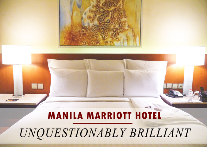 Manila Marriott Hotel: Unquestionably Brilliant