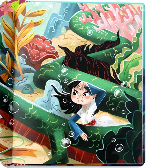 Tokoyo - Le tombeau du serpent de mer de Catherine Khoo et Teressan Ong - Des ronds dans l'O jeunesse