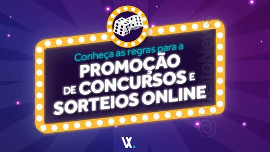 regras promocao concursos sorteios online direito