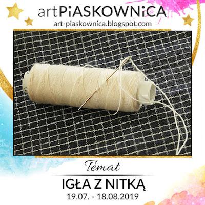 """DT Daget-Art - TEMAT """"igła z nitką"""""""