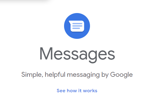 Google Messages Icon