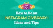 Instagram giveaway and competition ideas