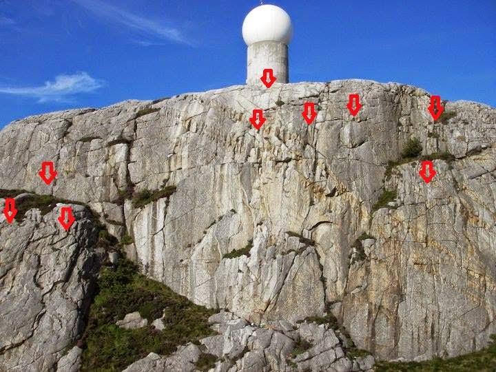klatretur opp nordkapp