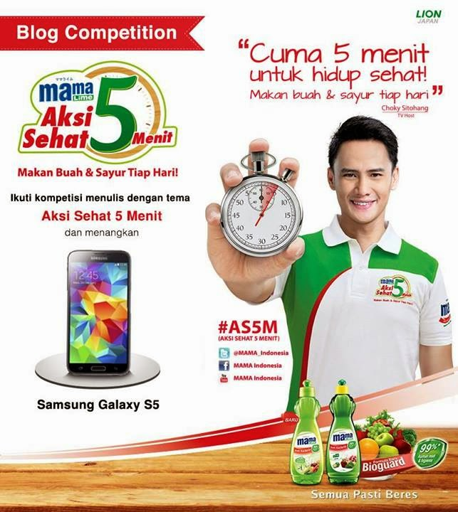 MAMA LIME Blog Competition Aksi Sehat Lima Menit #AS5M