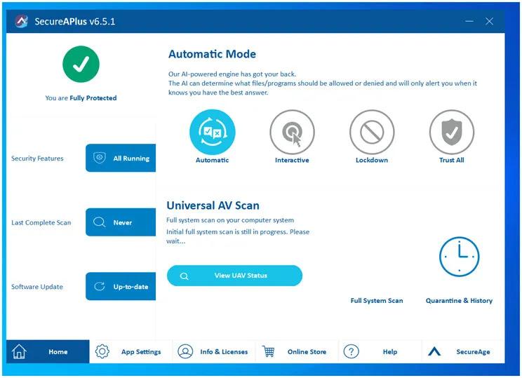 Universal AV :  Μοναδική δωρεάν προστασία για τον υπολογιστή σας με πολλά επίπεδα ασφαλείας