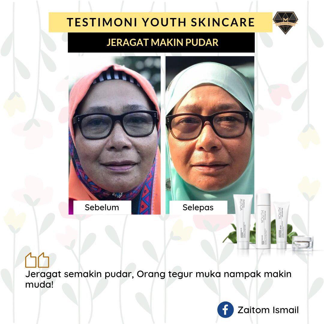 testimoni youth shaklee untuk kulit berjeragat