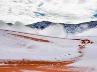 Sahara Diselimuti Salju Setebal 40 Cm, Fenomena Apa Ini?