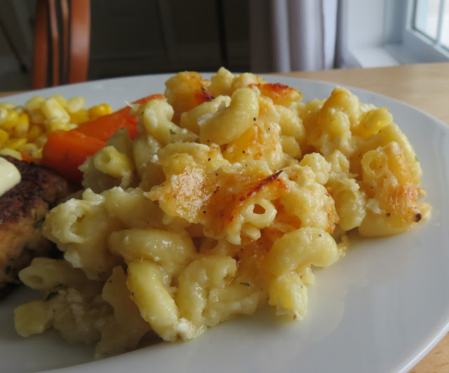 Easy Baked Mac & Cheese