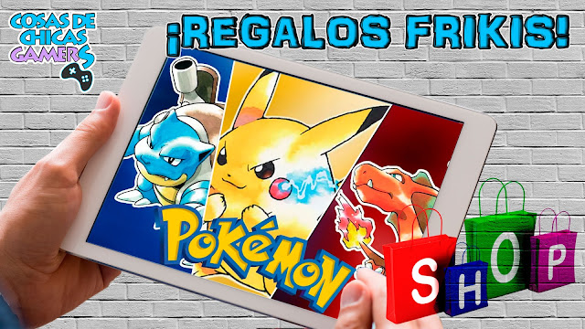 regalos frikis de pokemon