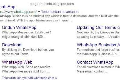 Cara Menggunakan Whatsapp Web di Google Chrome
