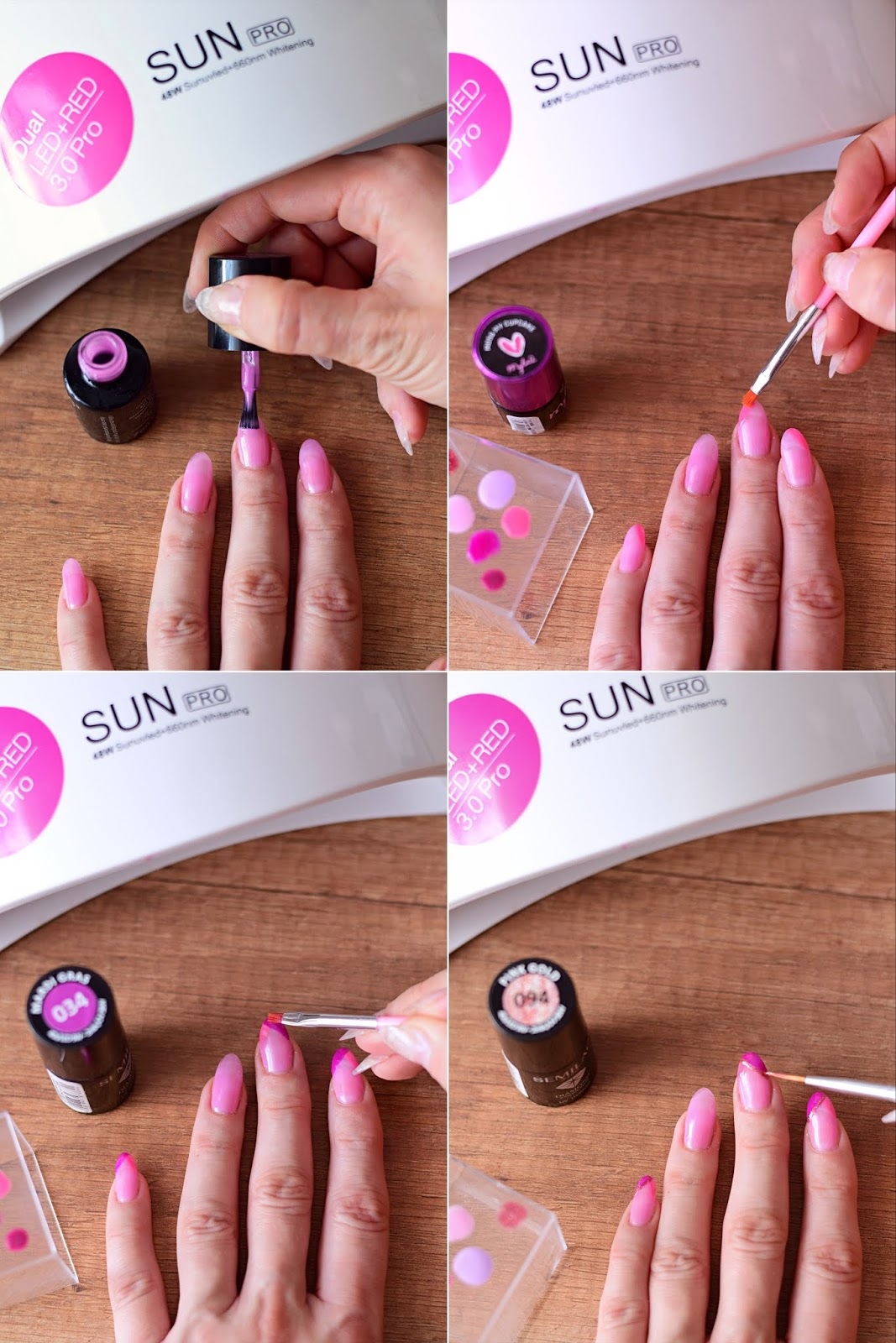 manicure_na_lato_paznokcie_lato_wakacje_french_francuski_kolorowe_końcówki_blog_tutorial_krok_po_kroku_pomysł_na_letnie_paznokcie