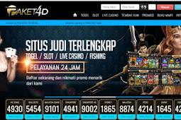PAKET4D | Agen Situs Togel Online & Judi Slot Online Deposit Pulsa Tanpa Potongan