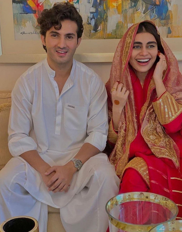 Sadaf Kanwal and Shahroz Sabzwari Nikah Pics