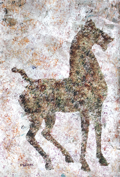 Lost Cave Horse of the Lost Cave Paintings of Saint Paul