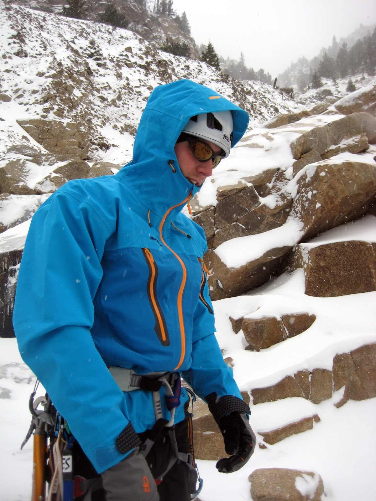 Gear Review Mammut Parinaco Jacket White Knuckled