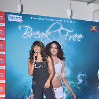 Bipasha basu launch break free dvd