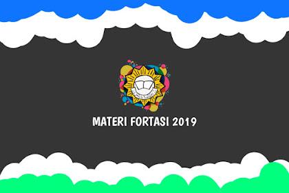 Materi FORTASI IPM 2019 | Dilengkapi PPT dan Penjelasan