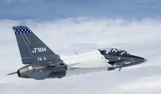 T-50A  Buatan KAI - Lockheed Martin