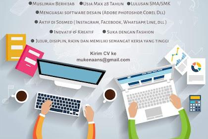Lowongan Kerja Admin Online ANS
