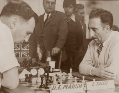 Partida de ajedrez Falcó-Marsh