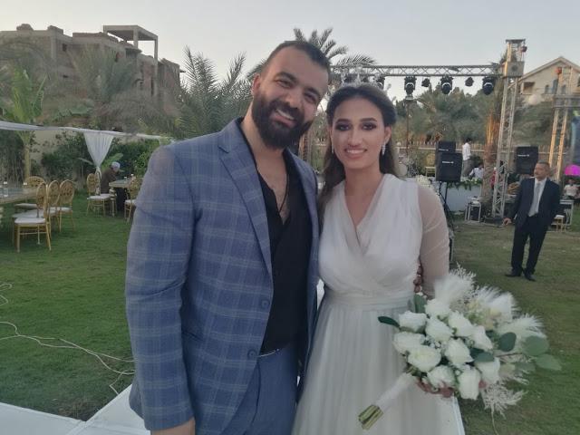 تهنئة بزفاف المهندي احمد المسلماني والكابتن يمني الجزيري