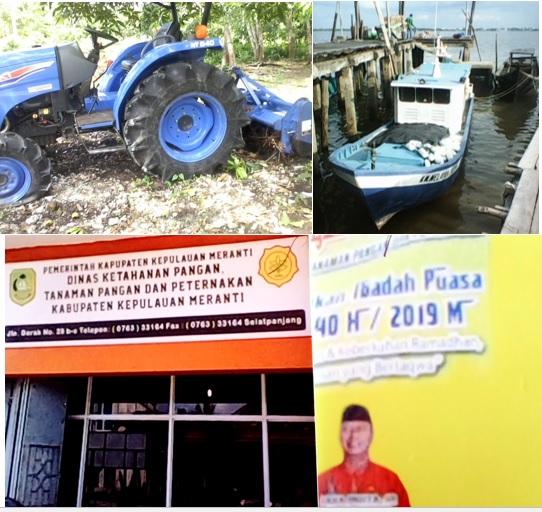 Kepala Dinas Pertanian, Peternakan dan Ketahanan Kab. Meranti Pernah Menjadi PPL Cetak Sawah di Kecamatan Pulau Merbau Tahun 2013