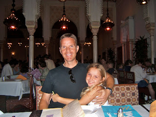 Eating at  Restaurant Marrakesh in Epcot