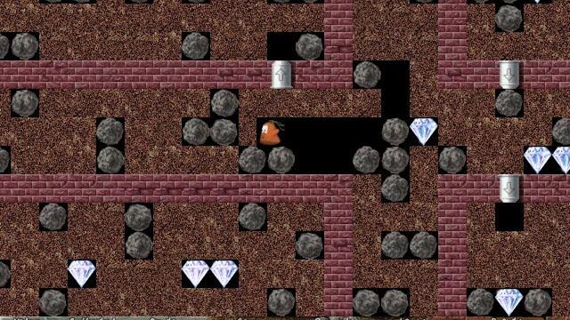 تحميل لعبة الحفار او سارق الماس Digging Jim بدون تسطيب