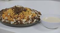 طريقة عمل فتة حمص باللحمة المفرومة و الطحينة مع نجلاء الشرشابي في على قد الإيد