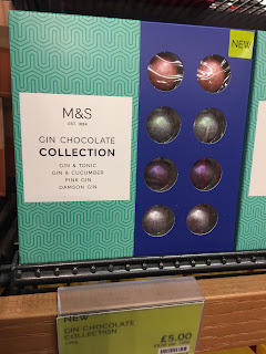 marks and spencer gin chocolate collection
