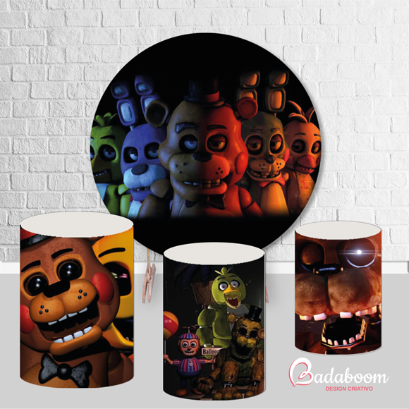 Painel Five Nights At Freddy's