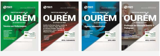 Apostila para Concurso Prefeitura de Ourém-PA -2017