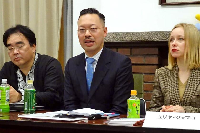 Одне із засідань Асоціації україністів Японії (грудень 2019 р.)
