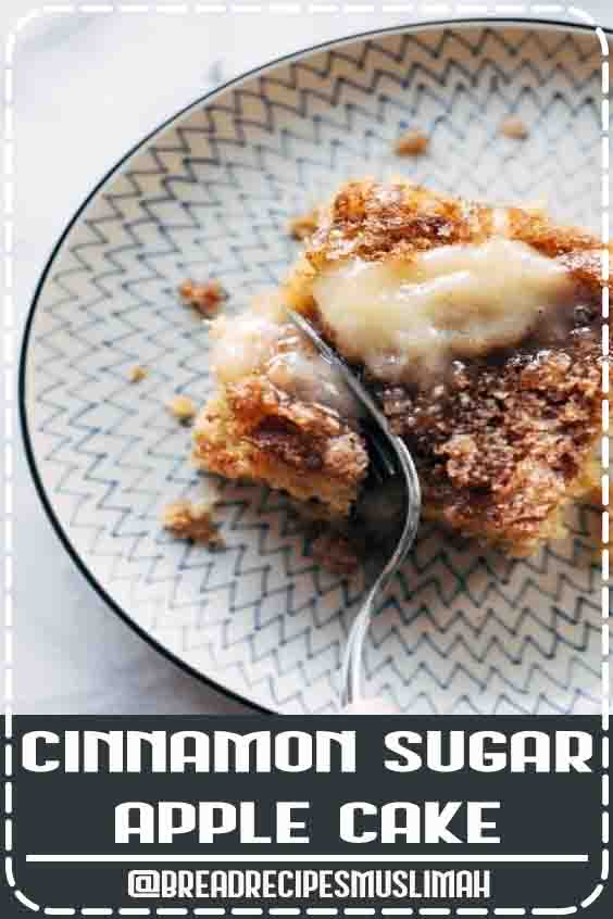 This simple cinnamon sugar apple cake is light and fluffy, loaded with fresh apples, and topped with a crunchy cinnamon sugar layer! #cake #apple #dessert #baking #recipe| pinchofyum.com  #bread  #recipes #homemade #easy #dessert
