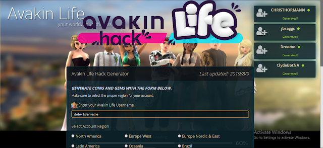 Avakin | Comment pirater la vie d'Avakin Hack Coins & Gems