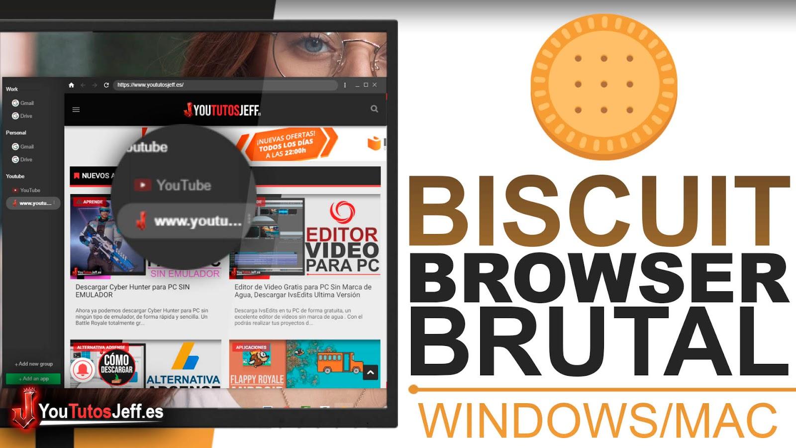 Este Navegador te Sorprenderá, Descargar Biscuit Browser Ultima Versión