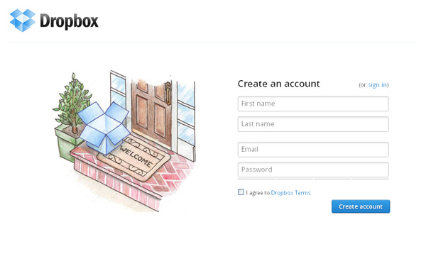 Dropbox Hosting Services
